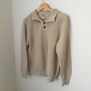 Vintage l.l bean knitted sweater